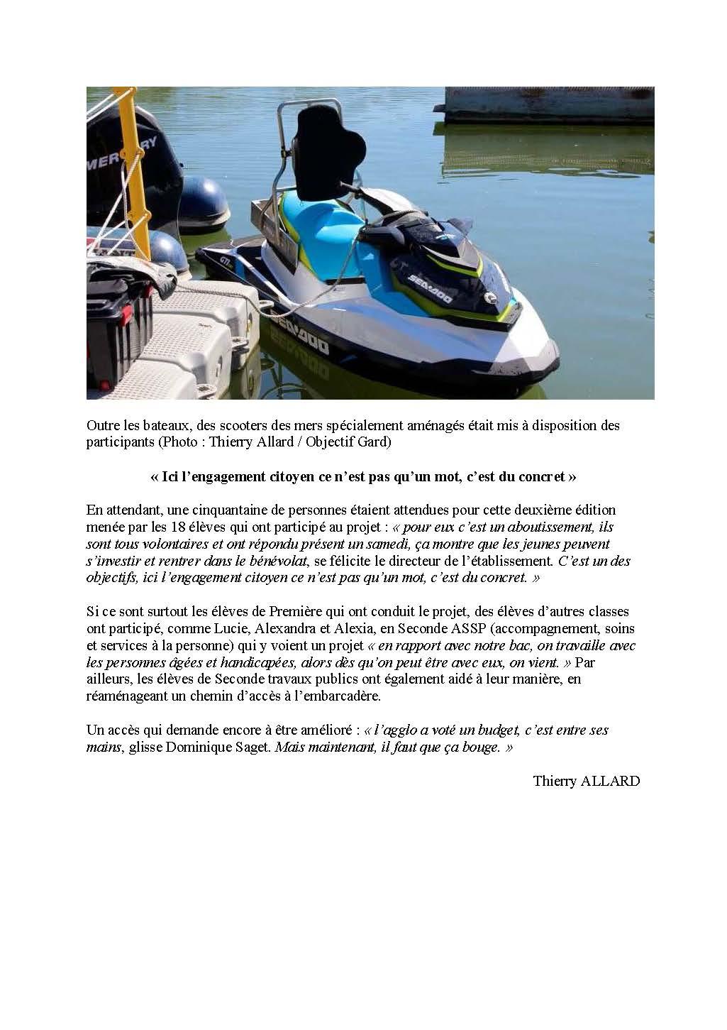 Objectif Gard LAUDUN-L'ARDOISE Une journée pour concilier nautisme et handicap 22-05-2016_Page_2